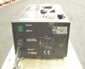 スモークマシン 650w ロスコ アルファ 900V2 背面
