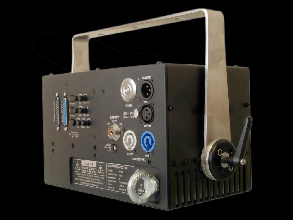 フルカラーレーザービーム KVANT K801RGBS_ATOM