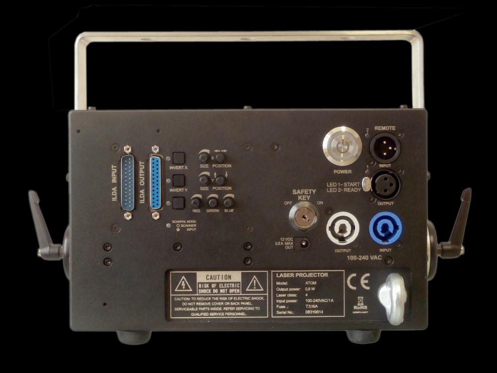 レーザービーム KVANT K801RGBS_ATOM