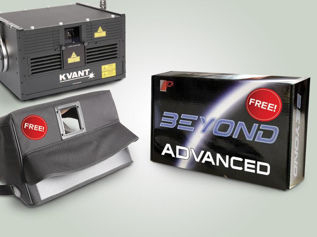 Atom 20 購入でBeyond Advanced とレインカバーを無料でプレゼント