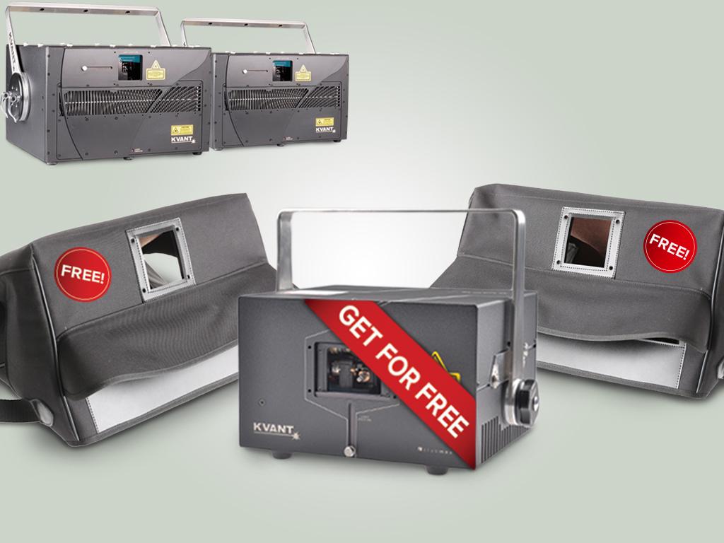Spectrum 30を2台購入でレインカバーを2つとClubmax 10 FB4を無料でプレゼント!